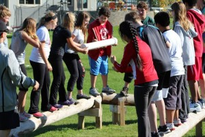 Team building Balance Beam