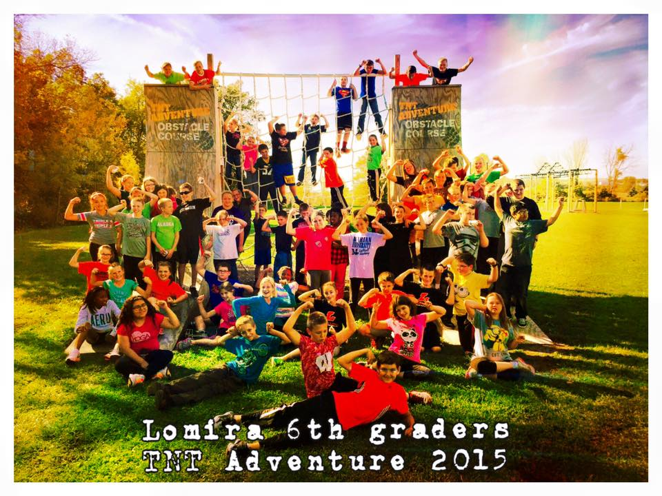 One of many groups who come out and enjoy TNT Adventure, LLC!